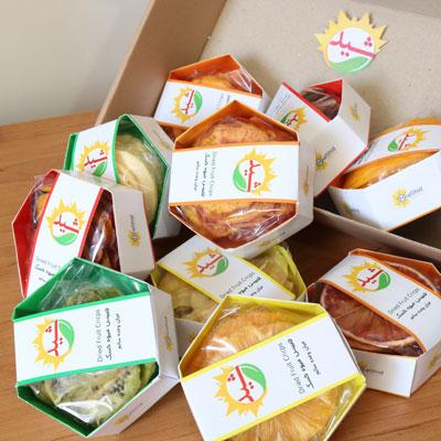 پک کادوئی 10 بسته 25 گرمی میوه خشک