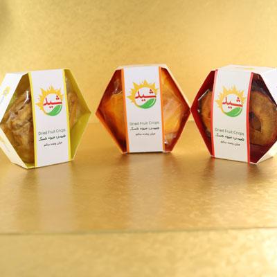 پک کادوئی میوه خشک شش ضلعی