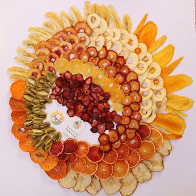 10 میوه نیم کیلوئی مخلوط میوه خشک