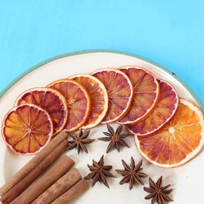 پرتقال خشک دارچین
