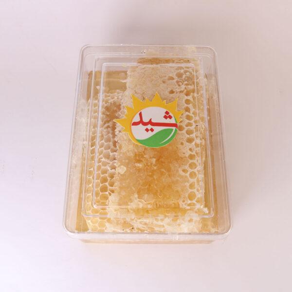 عسل طبیعی موم دار