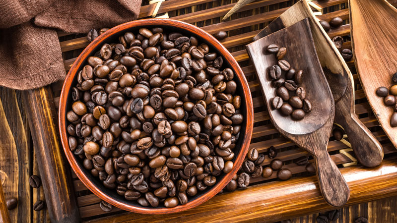 انواع دانه قهوه