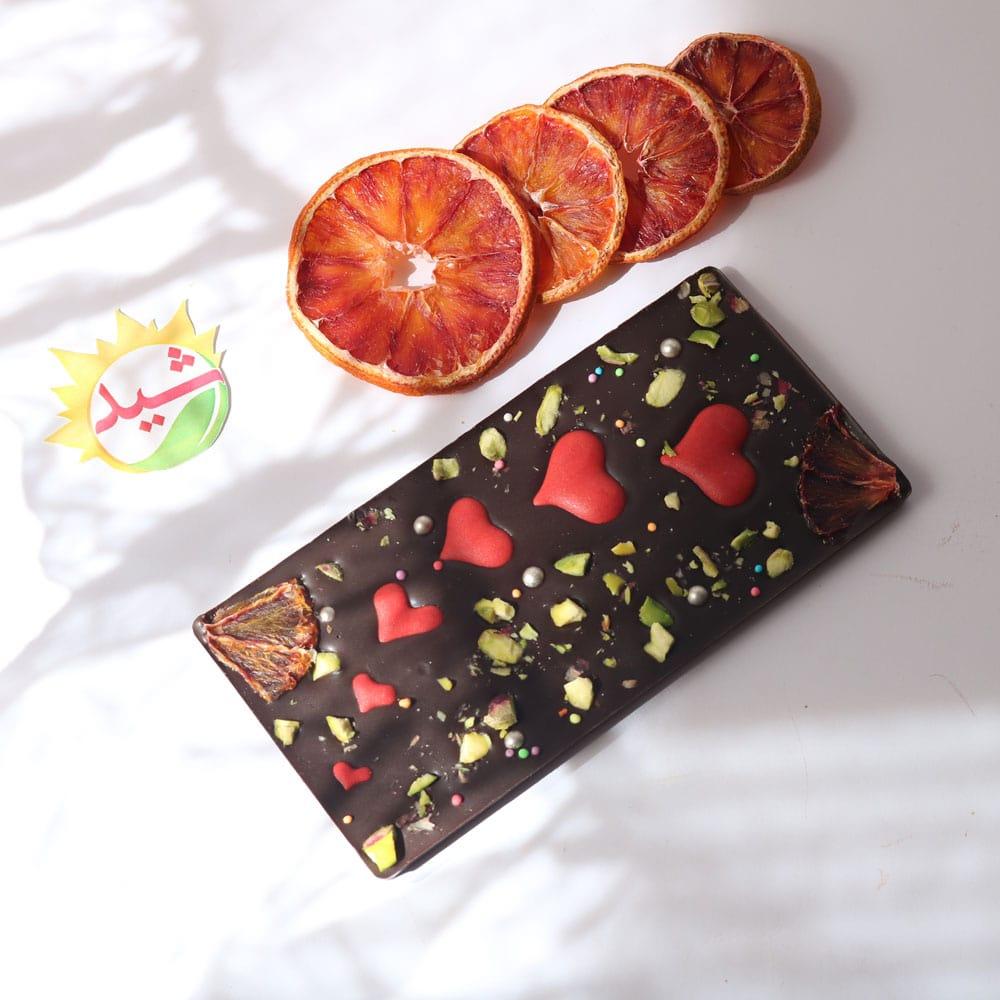 شکلات تبلتی پرتقالی