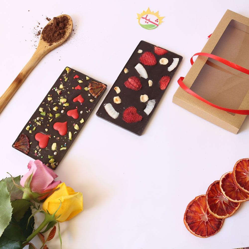 شکلات تبلتی توت فرنگی نارگیلی